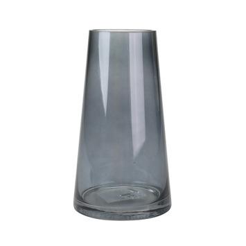 Iconische vaas donker grijs 18x6,8x10,5 cm