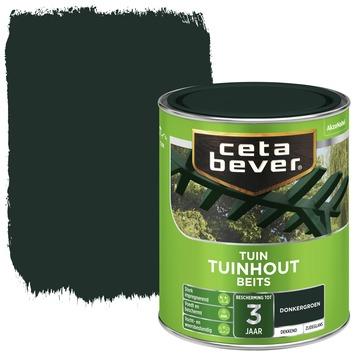 Cetabever tuinhoutbeits dekkend donkergroen zijdeglans 750 ml