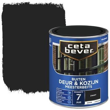 Beste Cetabever meesterbeits deur & kozijn dekkend zwart zijdeglans 750 WY-78