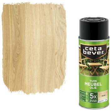 Cetabever tuinmeubelolie spuitbus blank 400 ml