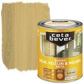 Cetabever binnenbeits deur & kozijn transparant blank eiken zijdeglans 750 ml