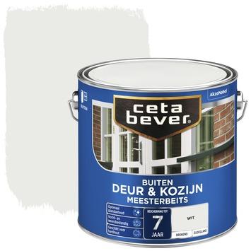 Cetabever meesterbeits deur & kozijn dekkend wit zijdeglans 2,5 l