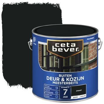 Cetabever meesterbeits deur & kozijn dekkend zwart zijdeglans 2,5 l