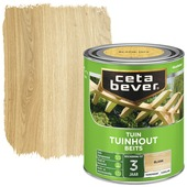 Cetabever tuinhoutbeits transparant blank zijdeglans 750 ml