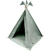 Overseas tipi Brett canvas met vlaggen ice 140x112 cm