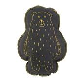 Overseas kussen Jenny beren vorm anthracite 40x50 cm
