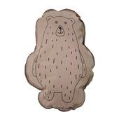 Overseas kussen Jenny beren vorm blush 40x50 cm