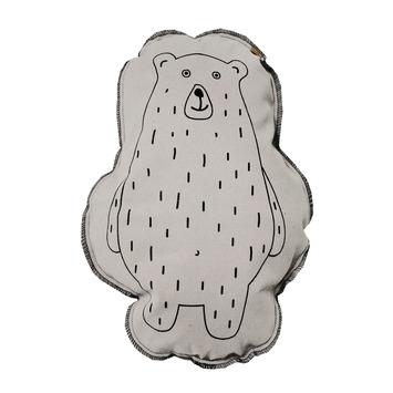 Overseas kussen Jenny beren vorm off white 40x50 cm