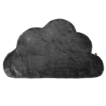Overseas kleed Marijn wolkenvorm l.grey 70x100 cm