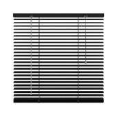 KARWEI horizontale jaloezie mat zwart (320) 60 x 130 cm - 25 mm