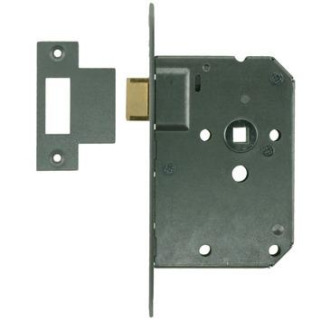 NEMEF 1200 serie insteekslot loopslot met gelakte voorplaat Doorn 50mm