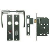 NEMEF slotset badkamer/WC 63 mm inclusief beslag
