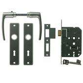 NEMEF slotset binnendeur 55 mm inclusief beslag