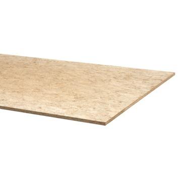 OSB3 plaat 122x61 cm dikte 9 mm met rechte kanten