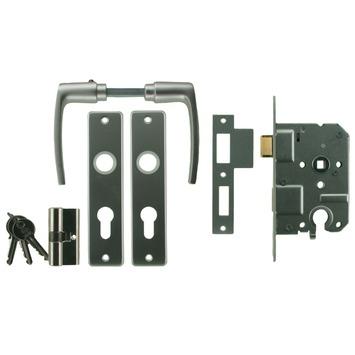NEMEF 1200 serie slotset binnendeur inclusief beslag en cilinder Doorn 50mm PC 55mm