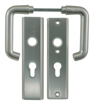 NEMEF veiligheidsbeslag SKG 3-sterren achterdeur 55 mm