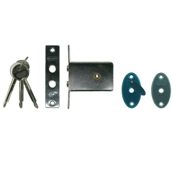 NEMEF veiligheidsbijzetslot SKG 1-ster Doorn 47mm