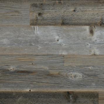 Wandbekleding Barnwood Excellent grey (ca. 0.8 m2)