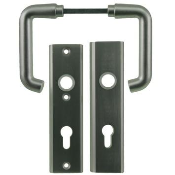 NEMEF veiligheidsbeslag SKG 3-sterren achterdeur 72 mm