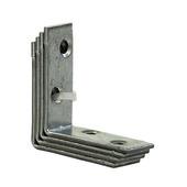 Stoelhoek verzinkt 40x40 mm (4 stuks)