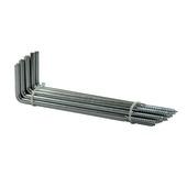 Kozijnanker zink 200x60x6 mm zink (20 stuks)
