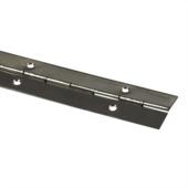 Pianoscharnier 32x500mm rvs