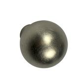 Knop Plien rvs 20 mm
