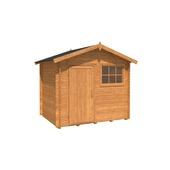 Tuinhuis Gember 240x180cm bruin