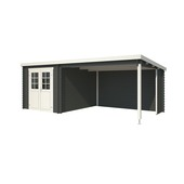 Tuinhuis Lis 230x275cm carbon grijs