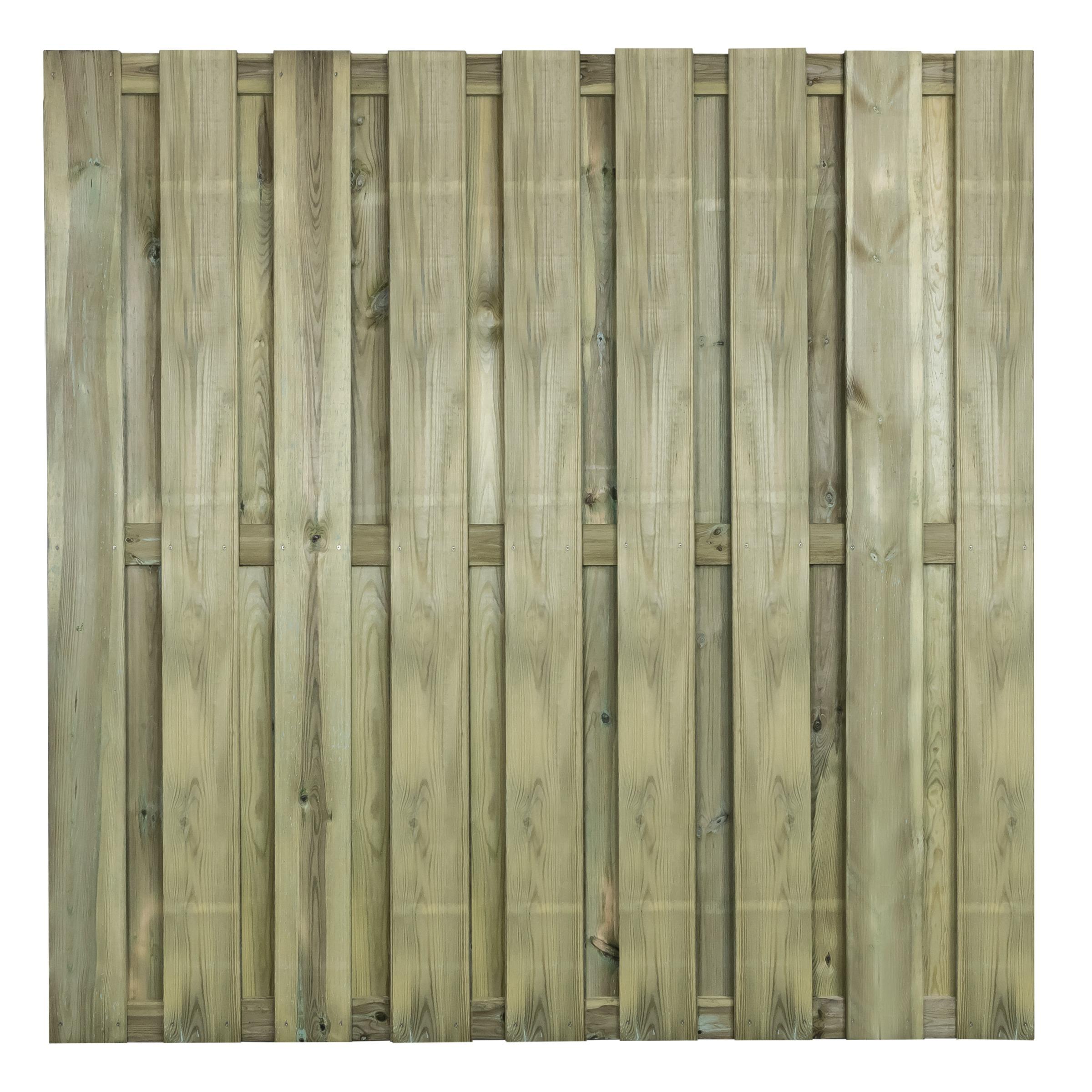 Schutting Royal grenenhout ca. 180x180 cm recht