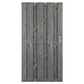Poort Royal grijs recht ca. 90x180 cm