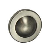 Mette knop rvs 35 mm