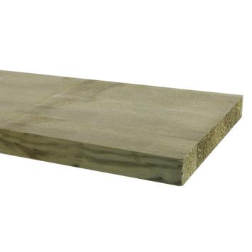 Tuinplank fijnbezaagd ca. 2,2x20 cm, lengte 240 cm