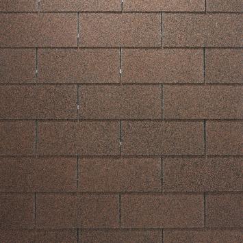 Shingles rood voor Tuinhuis Hysop/Gember/Bieslook/Munt/Fresia/Talinn incl. nagels 3 stuks 9 m²