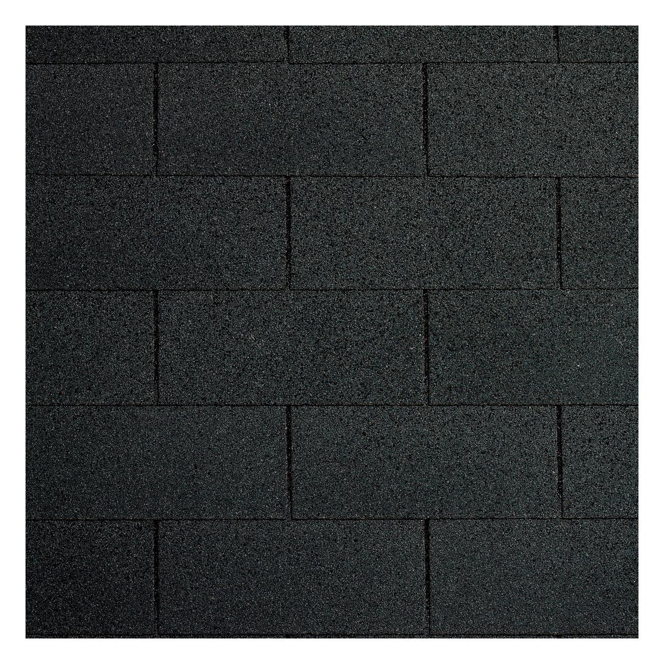 Shingles Zwart - 3 pakken voor 9m2 incl. nagels
