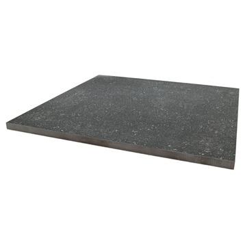 Terrastegel Keramisch Solid Stone Spots Zwart 60x60 cm - 68 Tegels / 24,48 m2