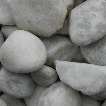 Grind Keien Carrara Wit 40-80 mm