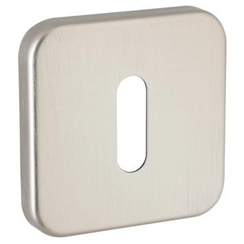 KARWEI sleutelplaatje vierkant aluminium rood/wit 2 stuks