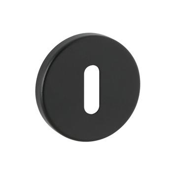 KARWEI sleutelplaatje rond zwart 2 stuks