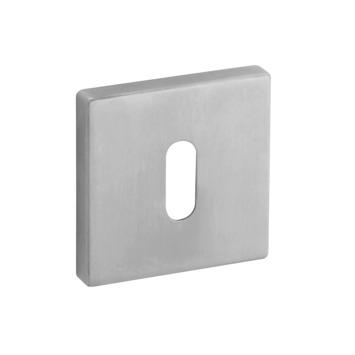 KARWEI sleutelplaatje vierkant RVS 2 stuks