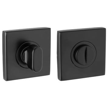 KARWEI rozet vierkant voor wc RVS zwart