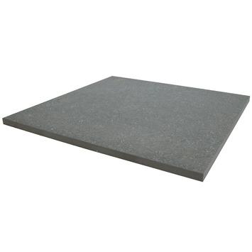 Terrastegel Keramisch Solid Stone Spots Donker Grijs 60x60 cm - 2 Tegels / 0,72 m2