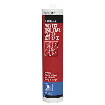 Handson montagekit Polyfix high tack wit 290 ml