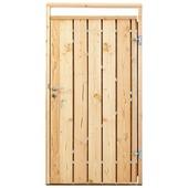 Poort voor houtbetonschutting Douglas, breedte 110 cm rechtsdraaiend