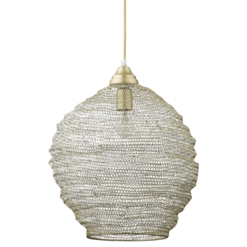 Hanglamp Lynn mat messing