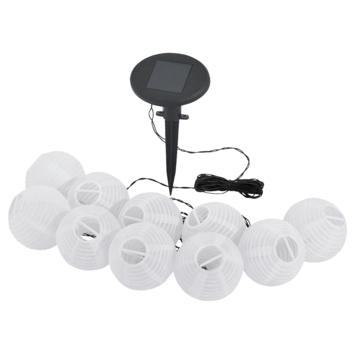 Eglo solar lichtsnoer wit 10 lampjes