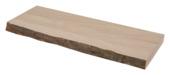 Duraline zwevende wandplank eikenfineer met schors 60 cm