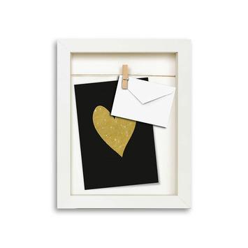 Fotolijst Bornholm hout wit 19x24 cm