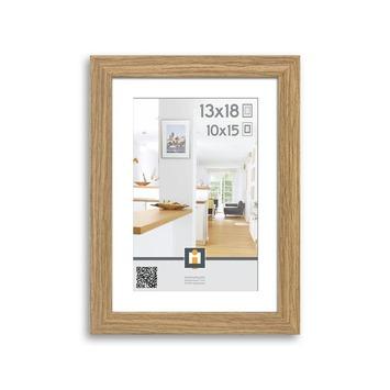 Fotolijst Göteborg hout vintage eik 13x18 cm