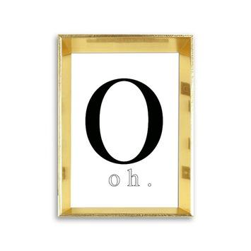 Fotolijst 1 hout goud 10x15 cm